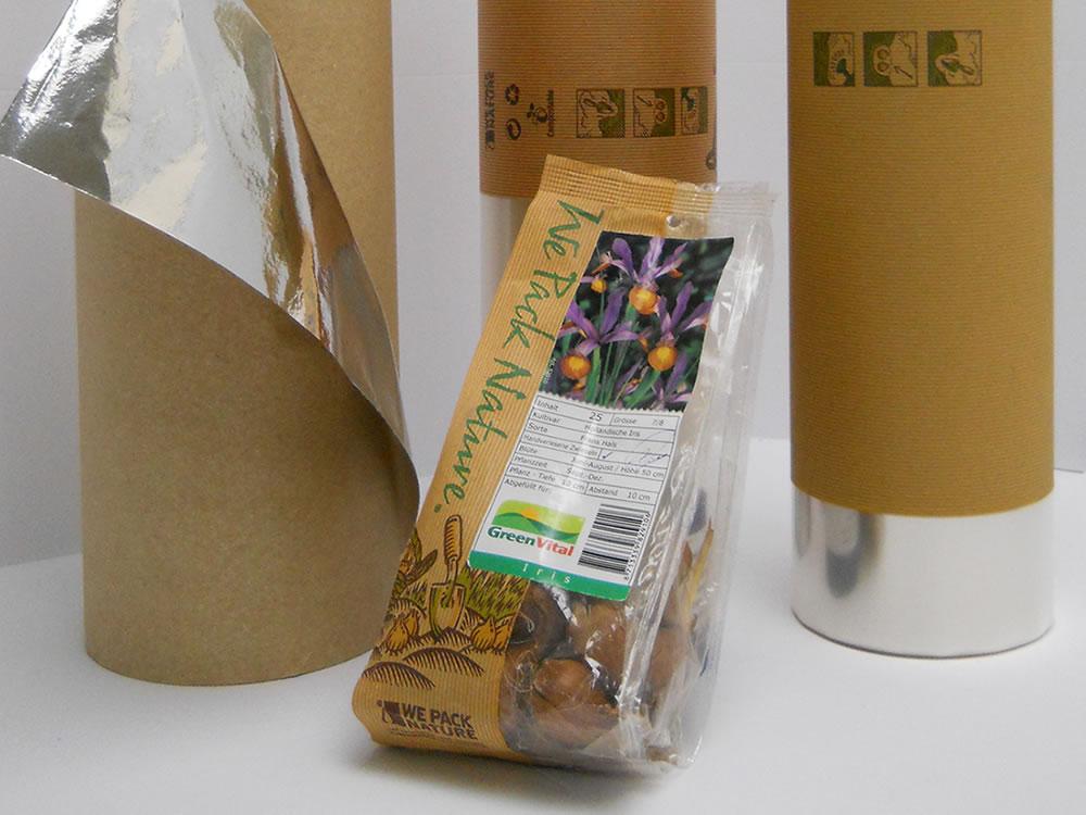 Biologisch afbreekbare verpakkingsmaterialen