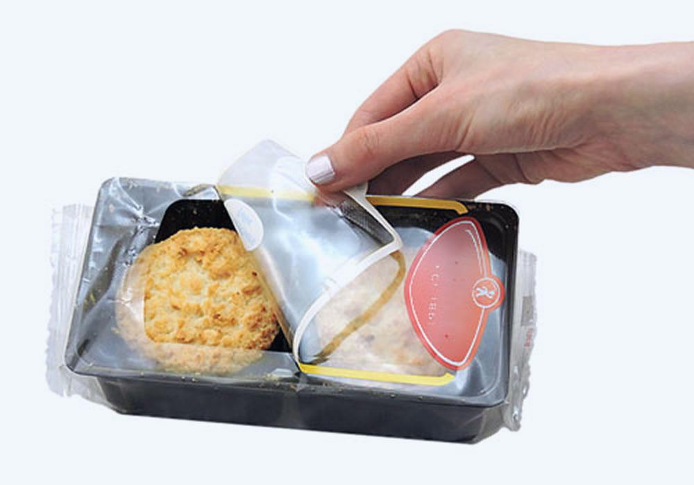 Verpakkingsmateriaal met Hersluitbare zegels